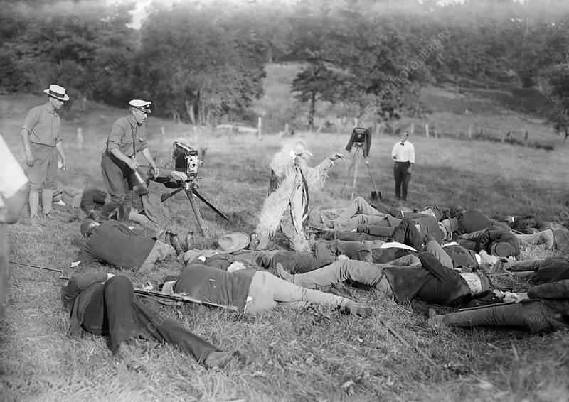 War film production, early 20th century