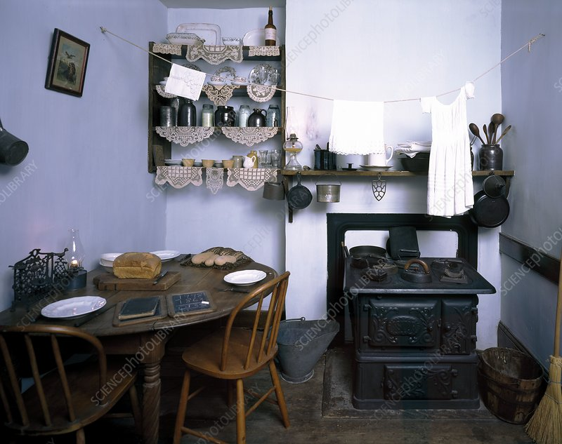 Tenement museum kitchen display