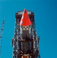 Rocket carrying India's first satellite