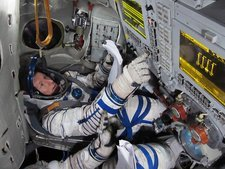 Timothy Peake, astronaut training, 2010