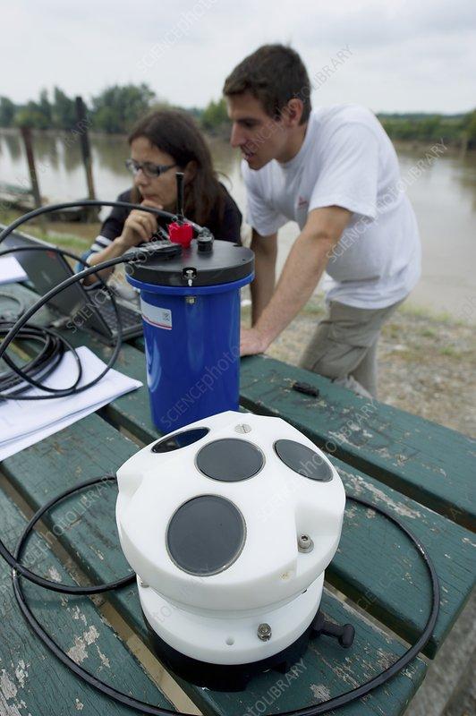 Garonne tidal bore research