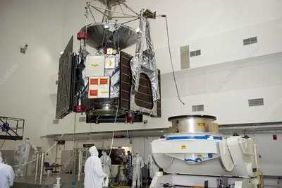 Juno spacecraft assembly