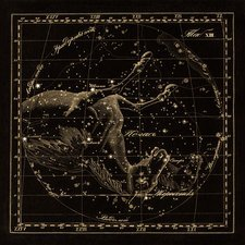 Pegasus constellations, 1829