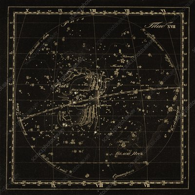 Cancer constellations, 1829
