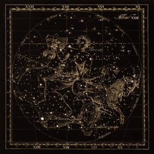 Aquarius constellations, 1829