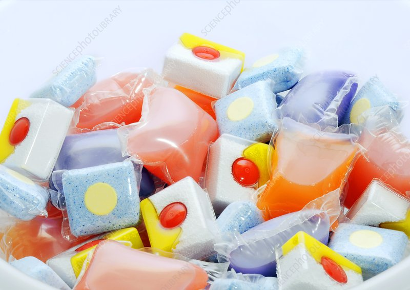 Washing deterrgent tablets