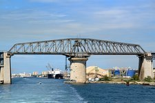 Caronte Bridge, Martigues, France