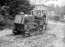 Tracked artillery tractor, 1918