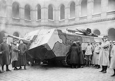 French tank, World War I