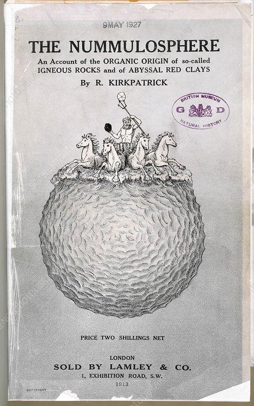 The Nummulosphere (1913)