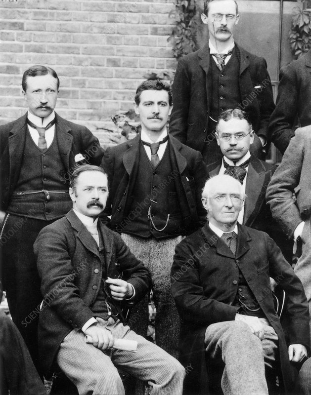 NHM Zoology Department staff, 1895