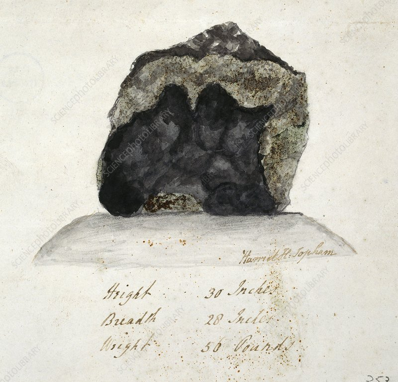 Wold Cottage meteorite, 1795
