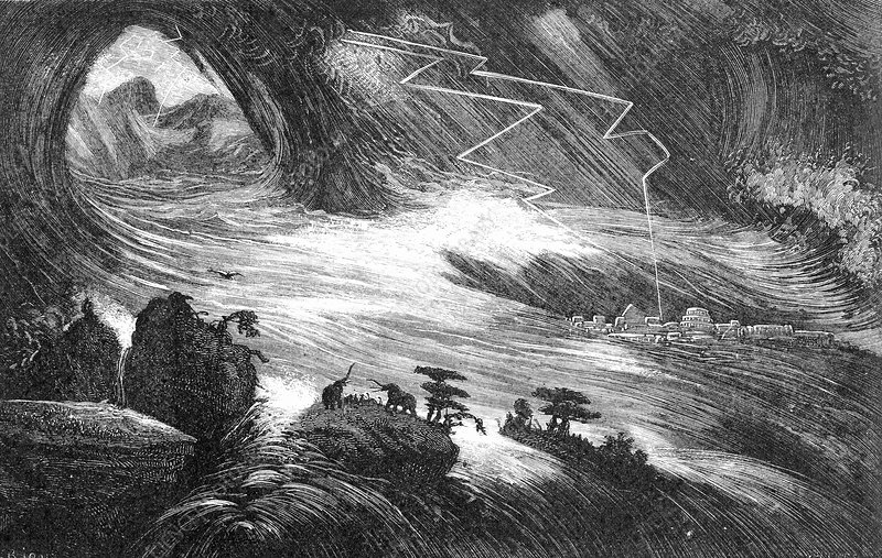 Asian Flood, 19th-century deluge theory