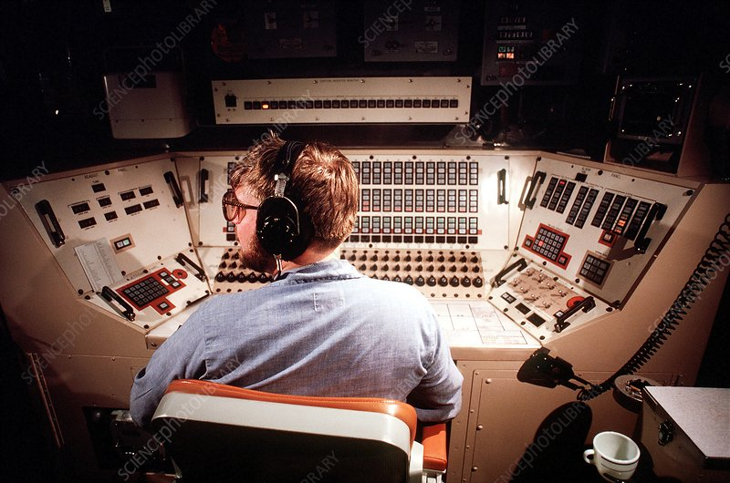 Trident missile launch control room