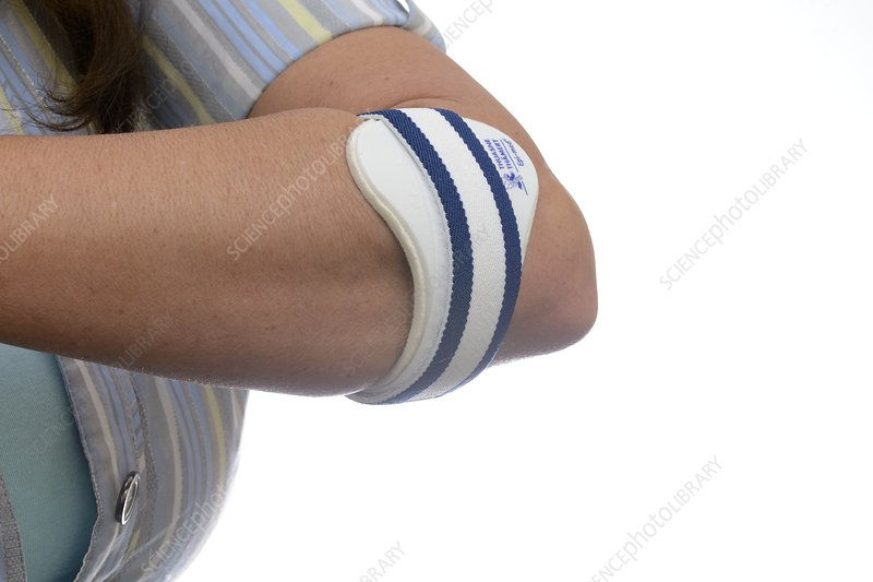 Support strap for tennis elbow