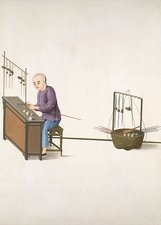 Weighing scale-maker, 19th-century China