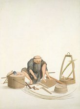 Bucket-maker, 19th-century China