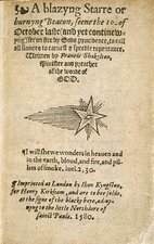 Report on the Comet of 1580