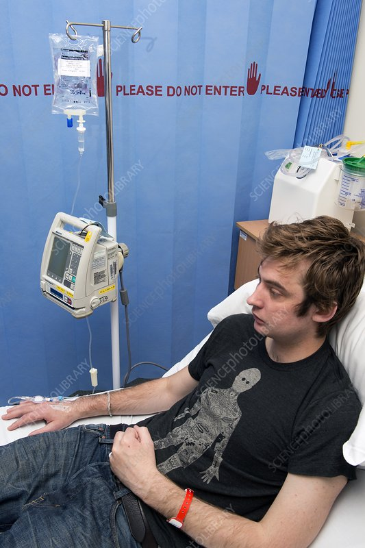 Infliximab infusion for Crohn's disease