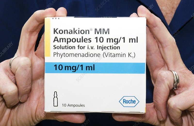 Pack of Konakion ampoules