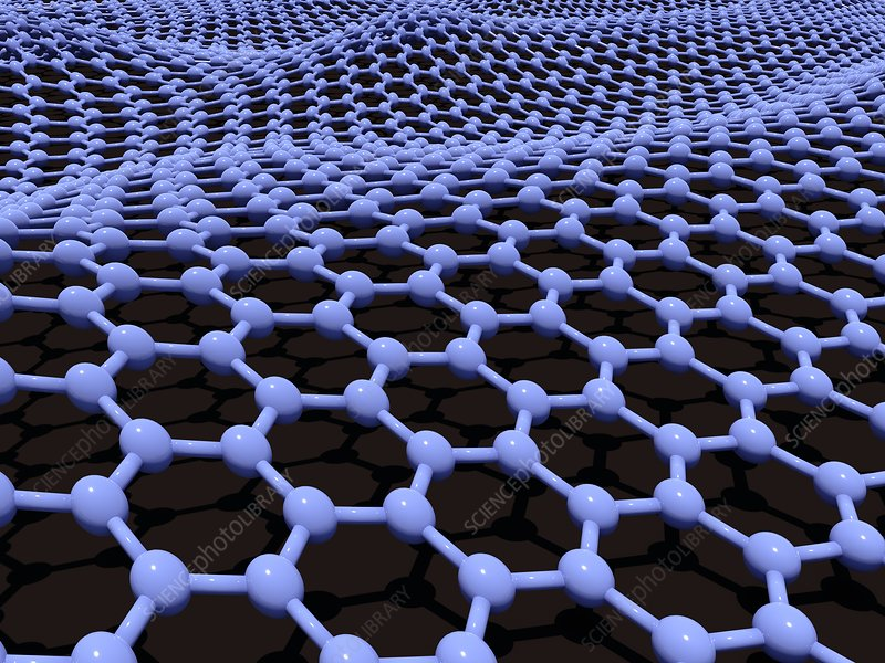 Graphene sheet, artwork