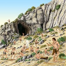 Palaeolithic human culture, artwork