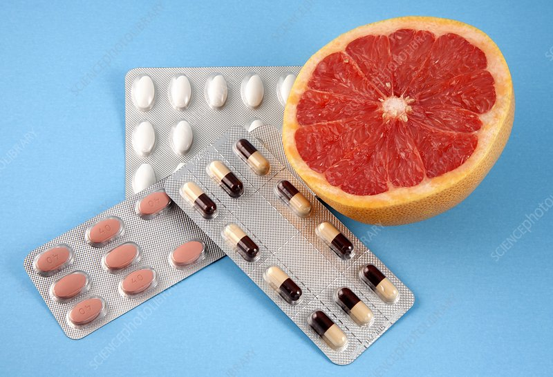 Grapefruit and drugs