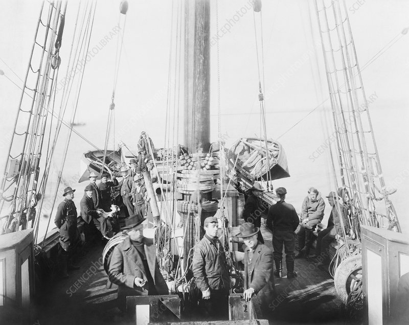Amundsen's Gjoa expedition, 1906