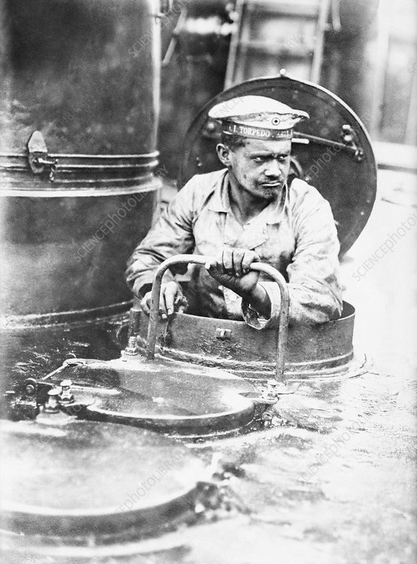 German torpedo boat sailor, World War I