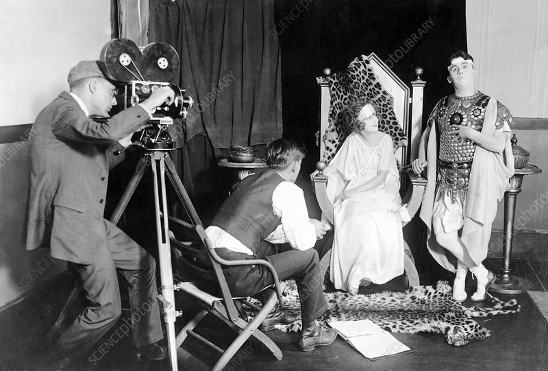 Silent film production, 1922