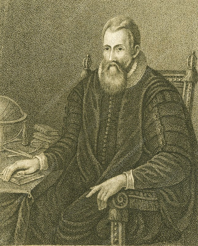John Napier, Scottish mathematician