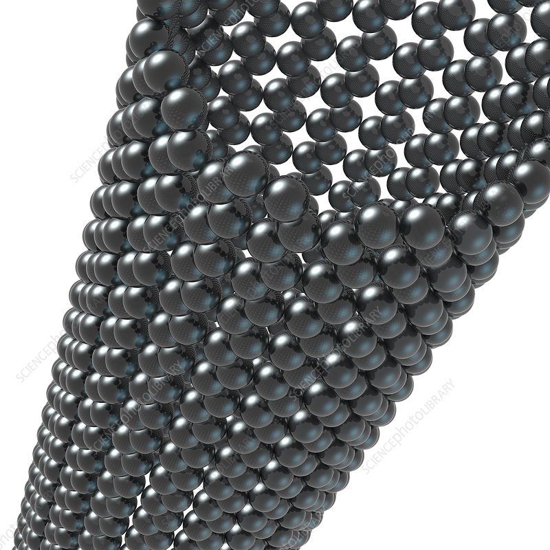 Nanotube structure, artwork