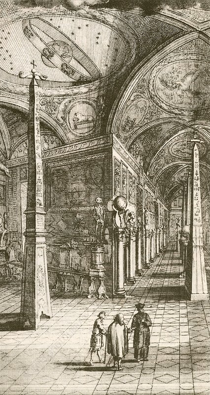 Kircher's museum in Rome, 17th century