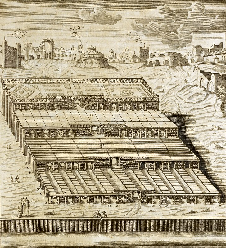 Hanging Gardens of Babylon, 1679 artwork