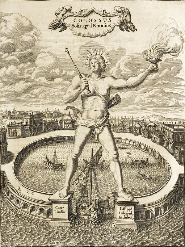 Colossus of Rhodes, 17th-century artwork