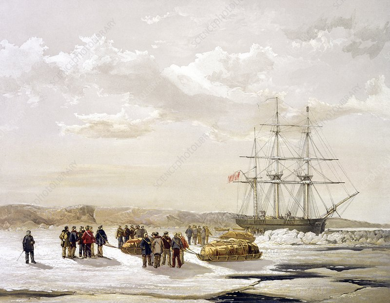 McClure Arctic expedition, 1850s