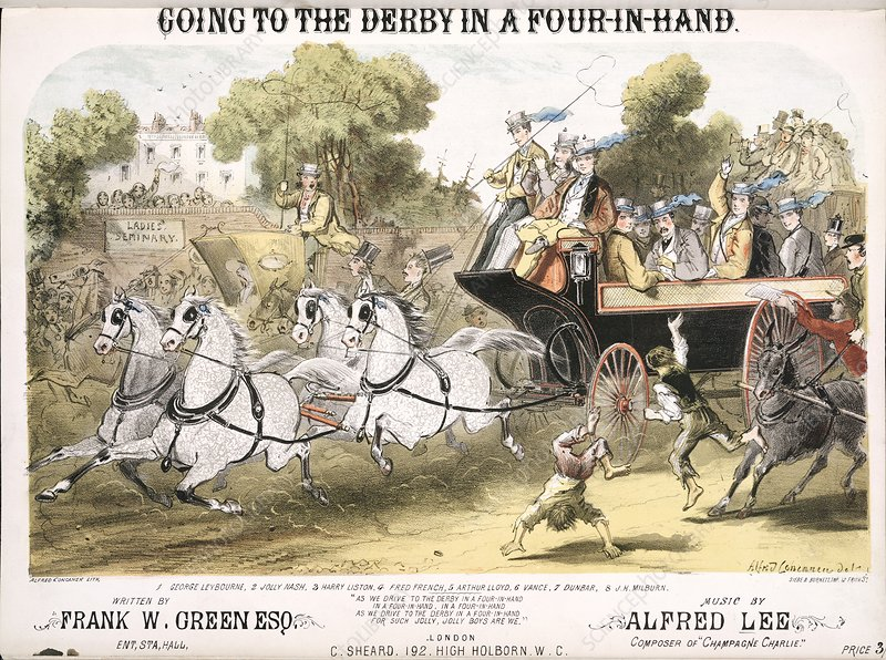 Going to the Derby, 1870 song