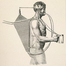 Underwater breathing apparatus, 1800s