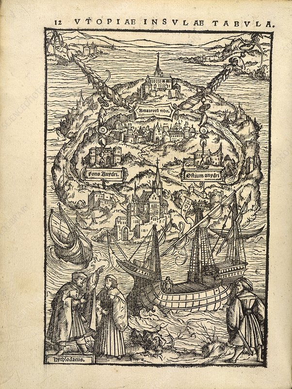 Thomas More's 'Utopia' (1518)