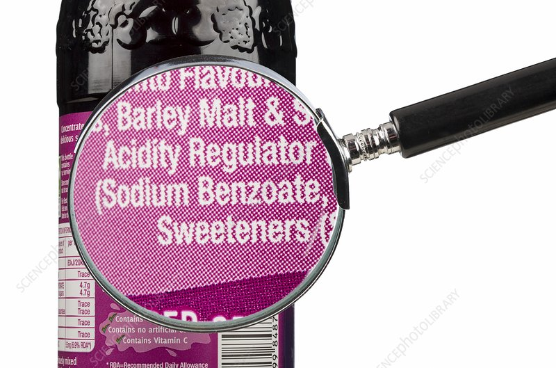 Fizzy drink ingredients