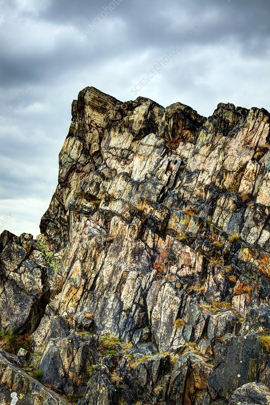 Beacon Hill rock formation, UK