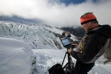 Glaciology research, Argentiere Glacier