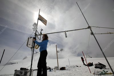 Glaciology at Mont Blanc weather station