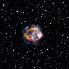 Cassiopeia A, NuSTAR X-ray image