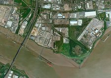 Dartford, aerial photograph