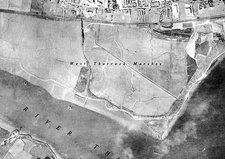 Dartford, historical aerial photograph