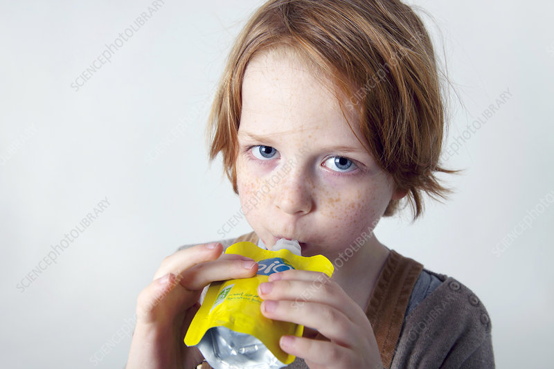 Child Snacking