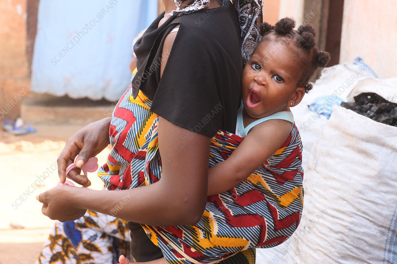 African Woman & Child