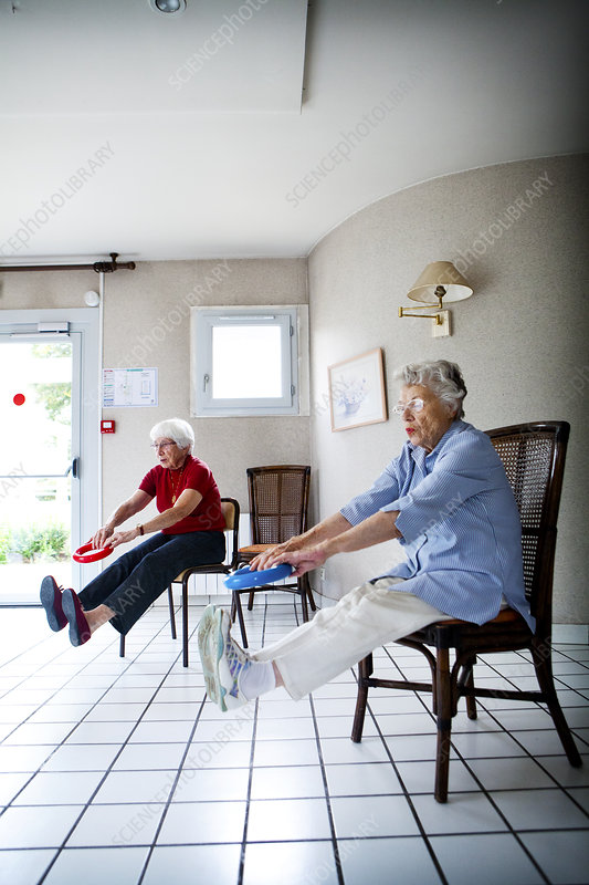 Elderly Pers. Practising A Sport