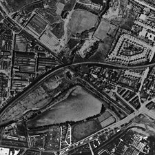 Gavelly Hill, historical aerial view